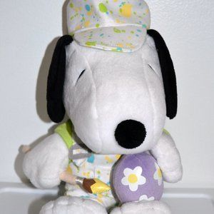 Snoopy Plush Painted Easter Egg